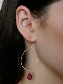 Juvi Designs Gold vermeil boho sway me earrings