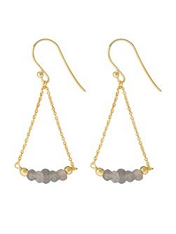 Gold vermeil boho sway me earrings