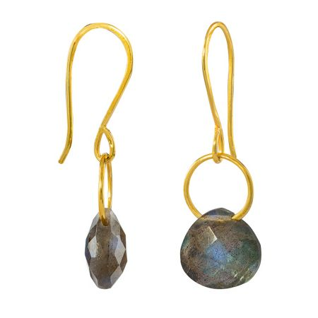 Juvi Designs Gold vermeil boho tiny dancer earrings
