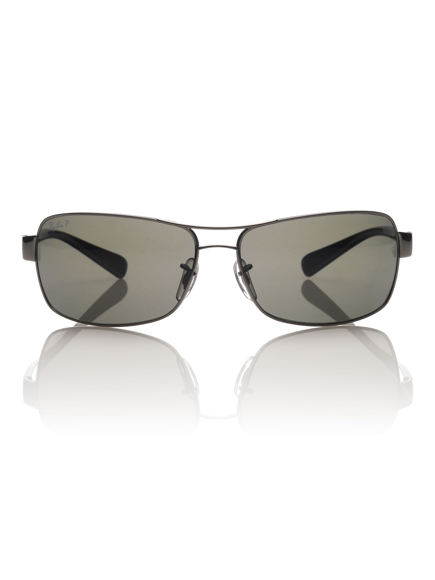 Mens RB3379 Rectangle Sunglasses