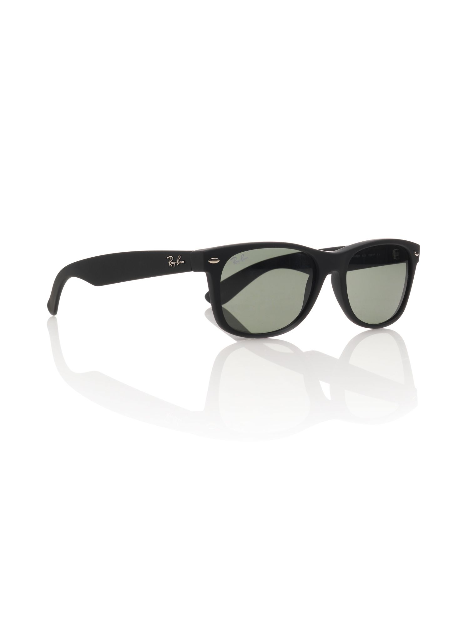 Unisex RB2132 New Wayfarer Black Sunglasses