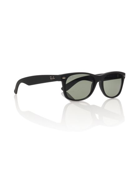 Ray-Ban Unisex RB2132 New Wayfarer Black Sunglasses