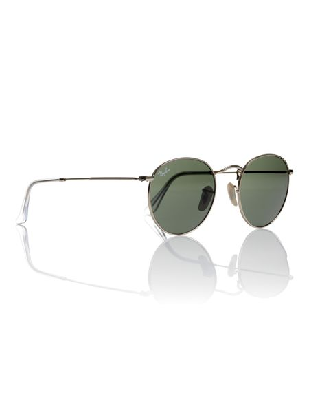 Ray-Ban Unisex Round Metal Sunglasses