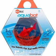 Aquabot fish bowl with aquabot