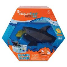 Hexbug aquabot shark with tank