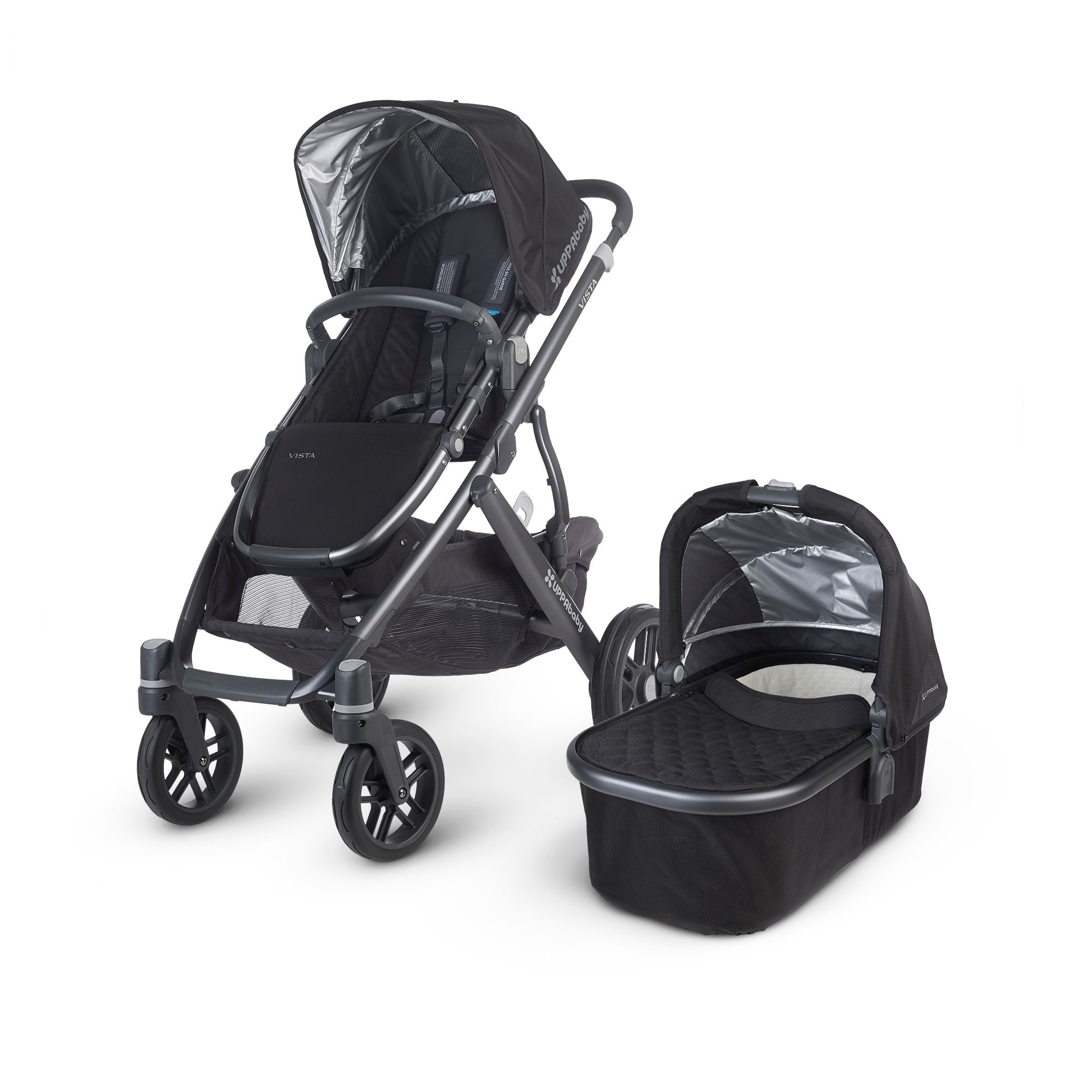Uppababy Vista Jake Vista Pushchair  Black