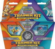 Pokemon Trainer Kit with Pikachu Libre & Suicune