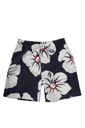 Skegness woodcut swimshorts