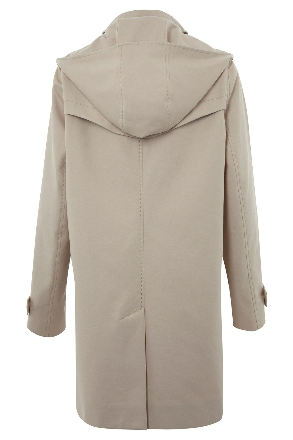 Smart catch trench coat