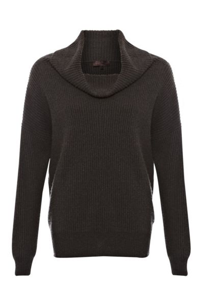 Great Plains Cocoon knits chunky roll neck