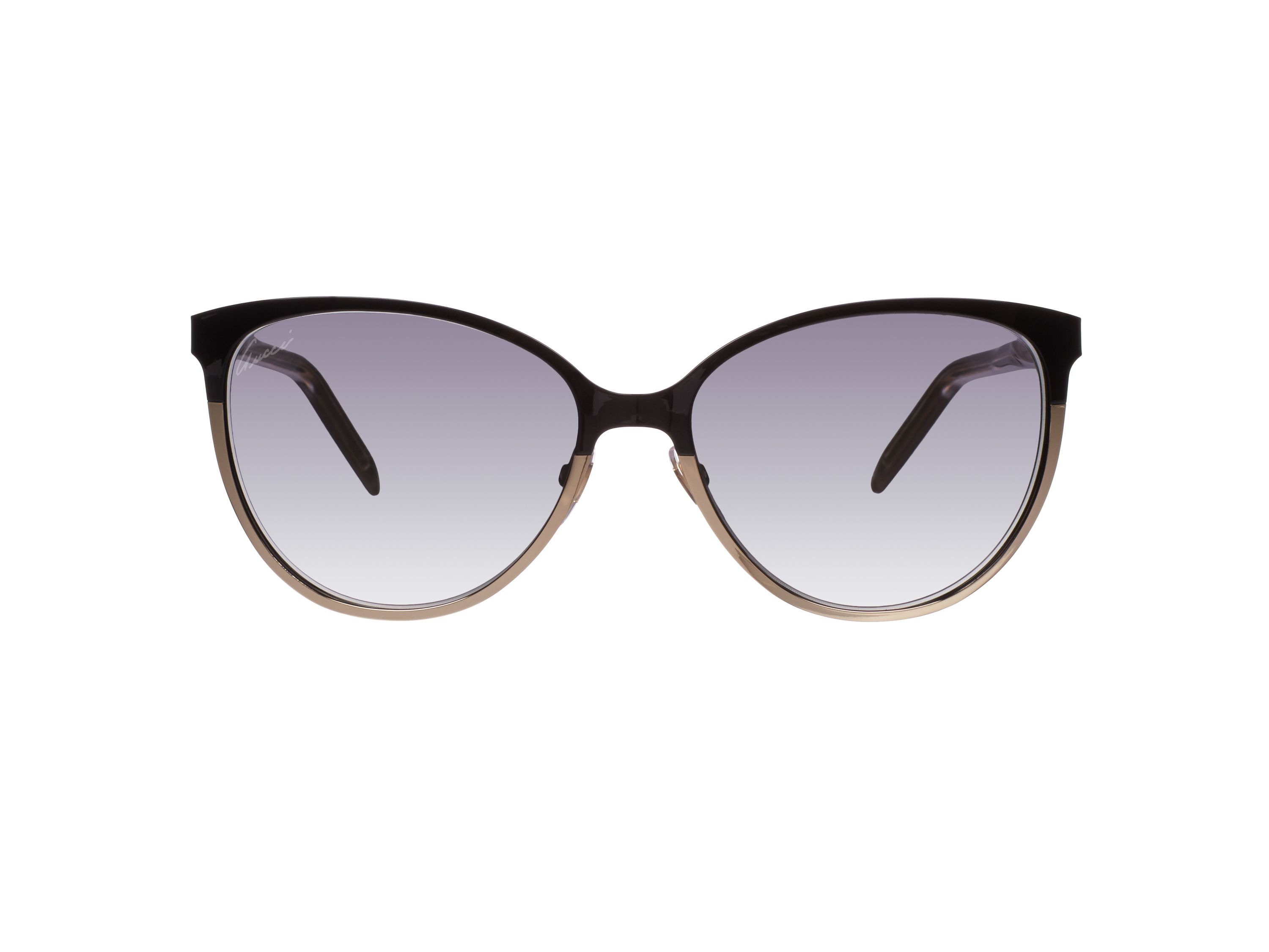 Women`s grey gradient square sunglasses