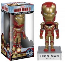 Iron Man 3 Mark XLII(42) Wacky Wobbler Bobble Hea