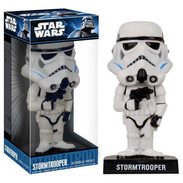 Star Wars Storm Trooper Wacky Wobbler