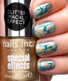 Farringdon Glitter Crackle Top Coat