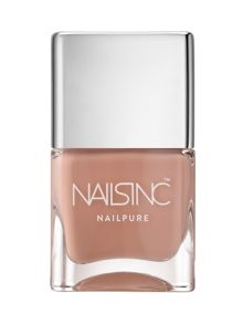 Nails Inc Nail Pure 6 free Montpelier Walk