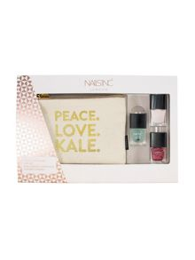 Nails Inc Nails inc Peace. Love. Kale. Gift Set
