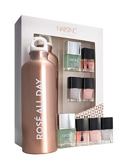 Nails inc Rose all Day Gift Set