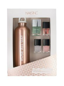 Nails Inc Nails inc Rose all Day Gift Set