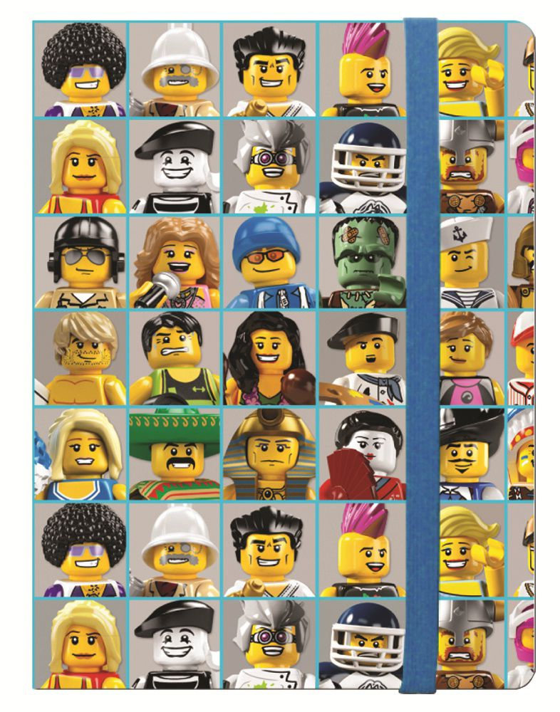 Lego Journal Classic Minifigures