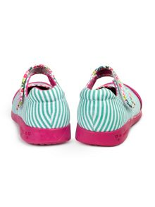 pediped Girls bree canvas shoe