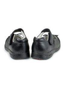 Girls becky school shoe