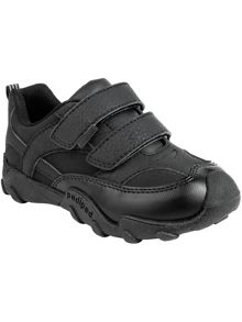 Boys highlander school shoe