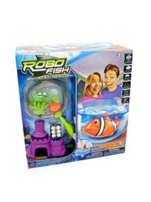 Robo Fish Robo Fish Bowl and Net