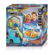 Robo Fish Bowl and Accessories