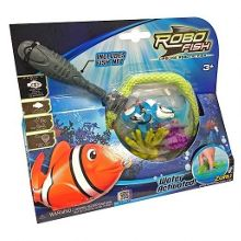 Robo Fish and Net