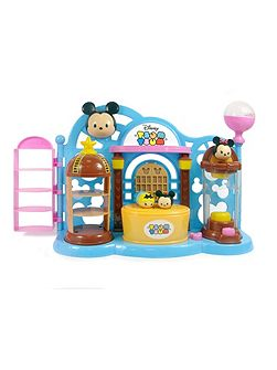 Stacklable Figure Toy Shop Playset