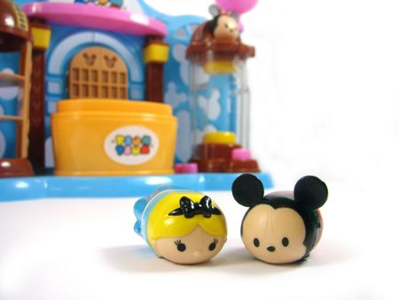 Disney Tsum Tsum Stacklable Figure Toy Shop Playset