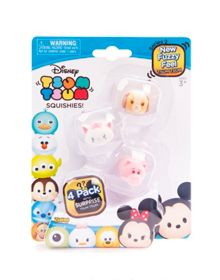 Disney Tsum Tsum Series 2 Squishy Figure 4 Pack