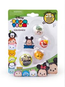 Disney Tsum Tsum Metallic Figure 4 Pack