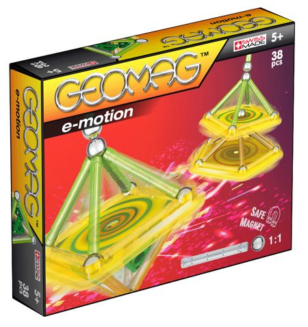 Geomag E-Motion Power Spin Set 38 Pieces