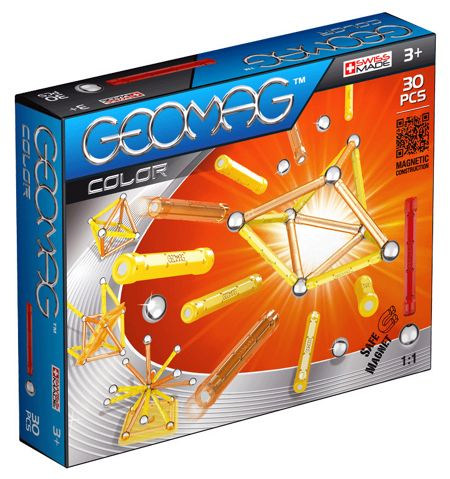 Geomag Color Magnetic Set - 30 Pieces