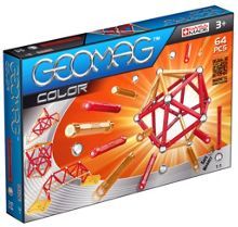 Geomag Color Magnetic Set - 64 Pieces
