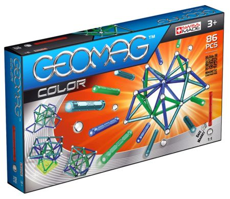 Geomag Color Magnetic Construction - 86 Pieces