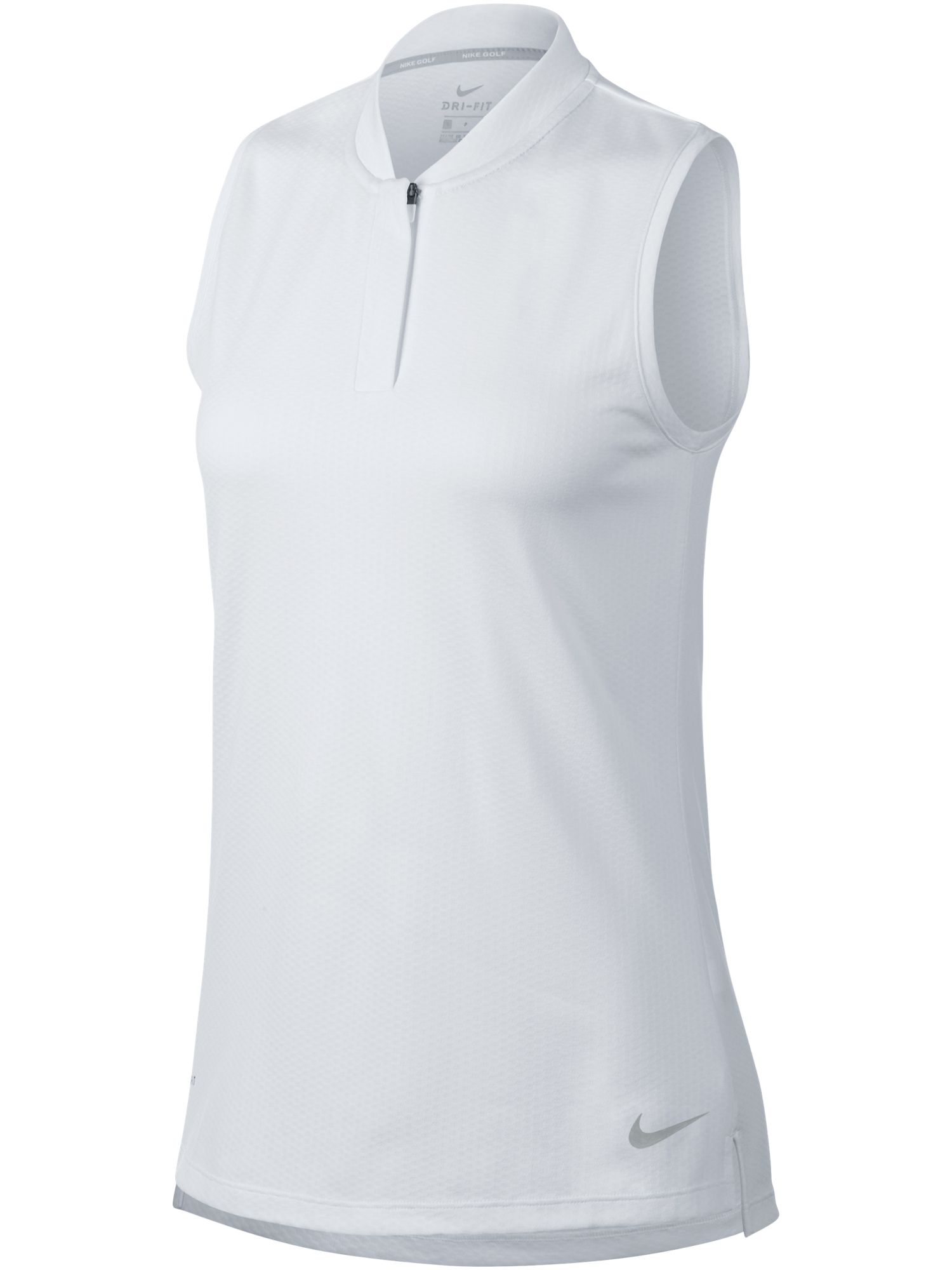 Nike Golf Dry Sleeveless Blade Polo, White