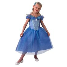 Disney Princesses Dress & Hairband - Medium (Age 5-6)