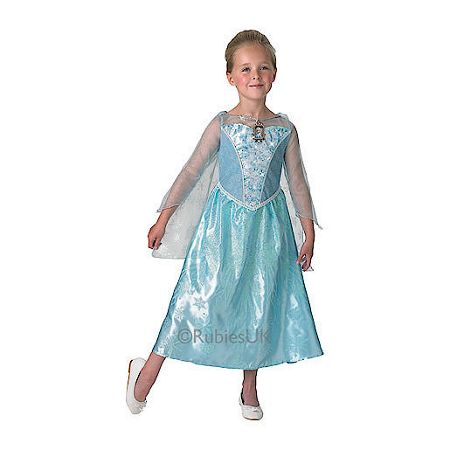 Disney Frozen Elsa`s musical light up costume age 7-8