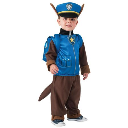 PAW PATROL Chase Costume (Age 3-4)