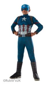 Marvel Costume - Captain America (5-7 Years)