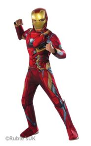 Marvel Costume - Iron Man (5-7 Years)