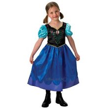 Disney Frozen Classic Anna Costume Small (Age 3-4)