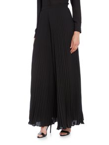 Tahari ASL Pleated Black Trousers
