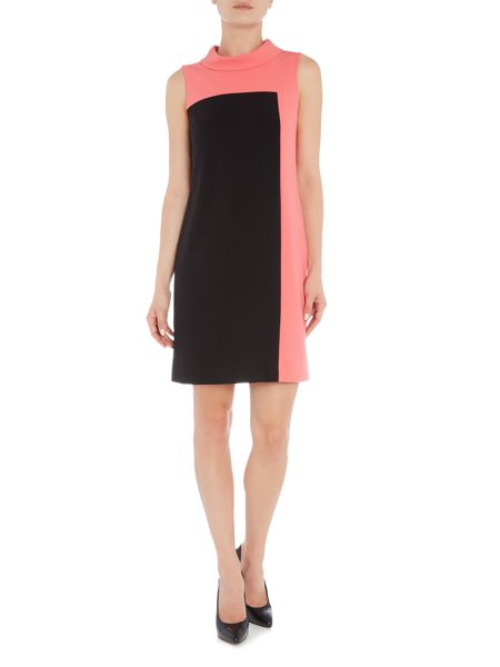 Tahari ASL Striking sleevless shift dress