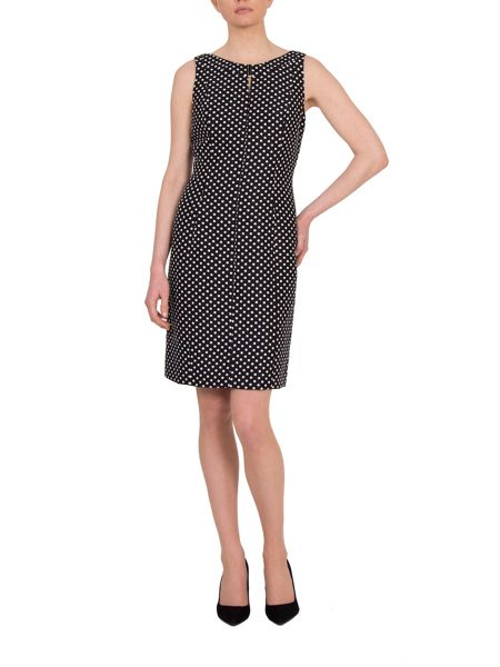 Tahari ASL Polka Dot Dress