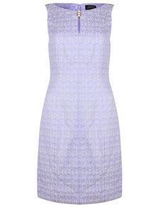 Tahari ASL Liliac Shift Dress