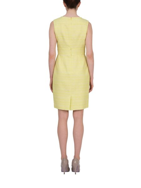 Tahari ASL Citrine Shift Dress