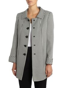 Tahari ASL Dog Tooth Coat